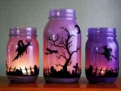 30 Best Creative DIY Mason Jar Halloween Crafts to Spice Up Your Fall Decor (28)