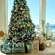 40 Coastal Christmas Decor Ideas And Makeover (2)