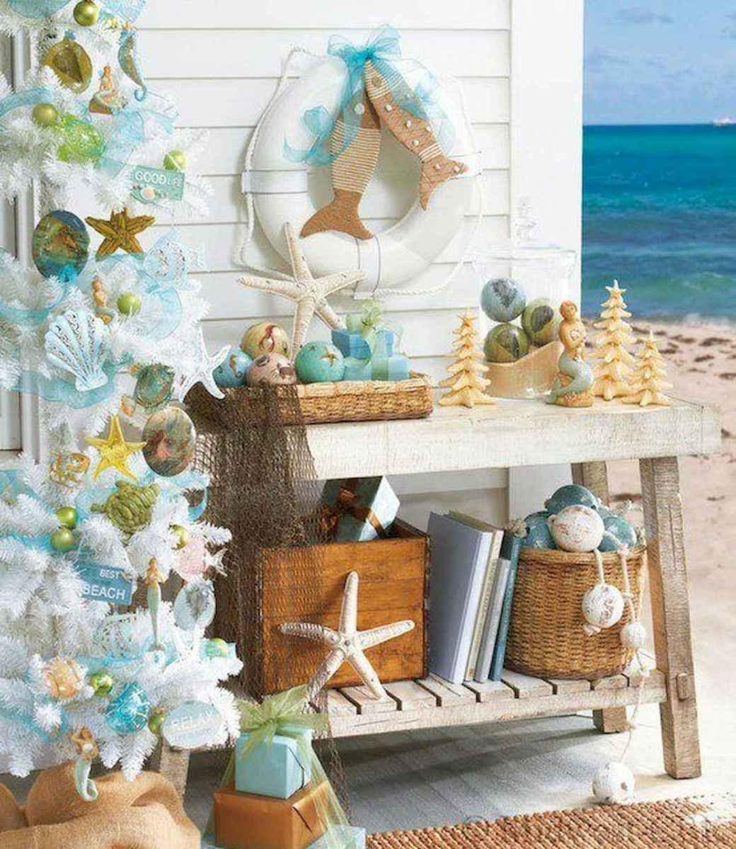 40 Coastal Christmas Decor Ideas And Makeover (21)