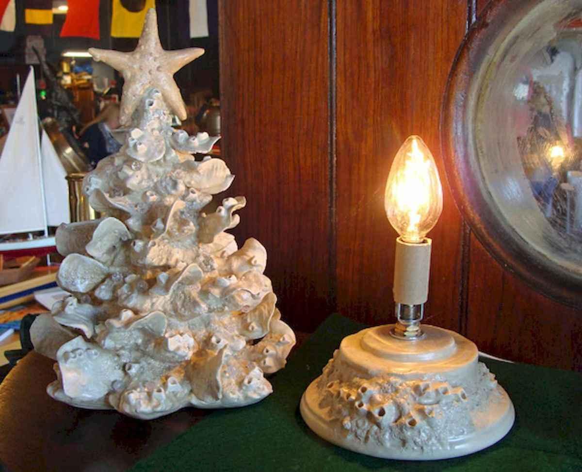 40 Coastal Christmas Decor Ideas And Makeover (36)
