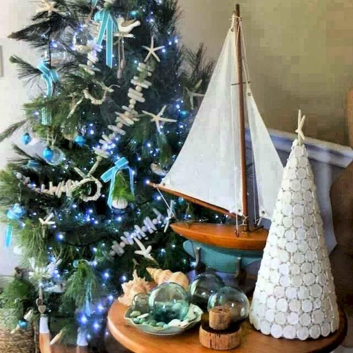 40 Coastal Christmas Decor Ideas And Makeover (38)