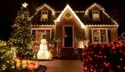 50 Awesome Outdoor Christmas Decor Ideas And Makeover (11)