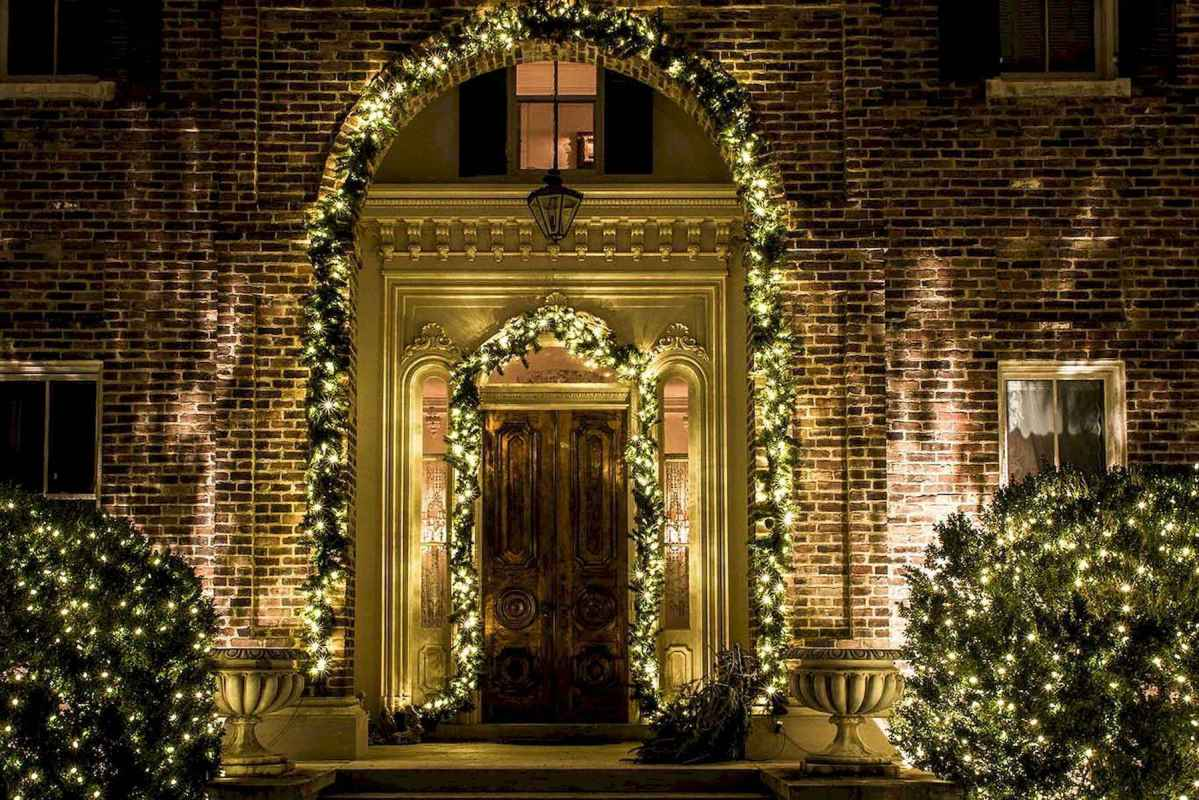 50 Awesome Outdoor Christmas Decor Ideas And Makeover (31)