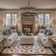 50 Best Rug Living Room Farmhouse Decor Ideas (14)