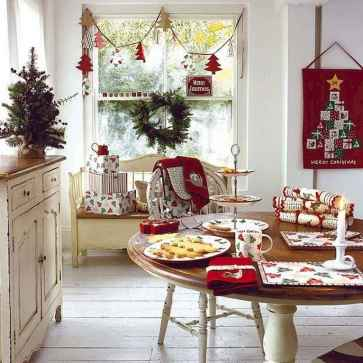 50 Christmas Front Porch Decor Ideas And Makeover (24)