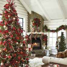 60 Best Farmhouse Christmas Decorating Ideas And Makeover (24)