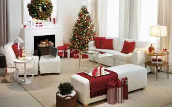 60 Best Farmhouse Christmas Decorating Ideas And Makeover (35)