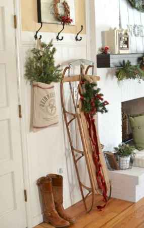 60 Best Farmhouse Christmas Decorating Ideas And Makeover (36)