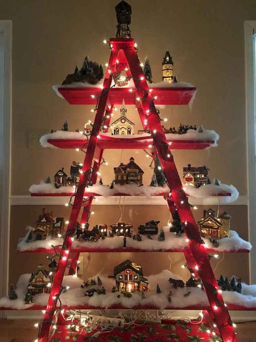 70 Best Christmas Lights Apartment Decorating Ideas And Makeover (32)