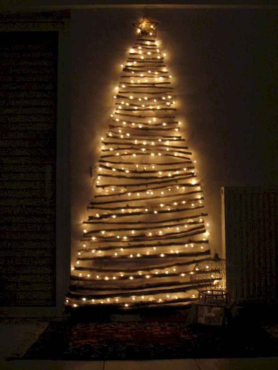 70 Best Christmas Lights Apartment Decorating Ideas And Makeover (37)