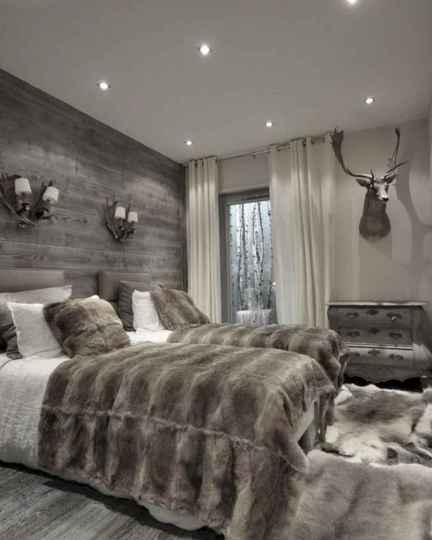 120 Awesome Farmhouse Master Bedroom Decor Ideas (52)