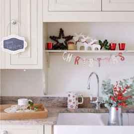 20 Elegant Christmas Kitchen Decor Ideas And Makeover (15)