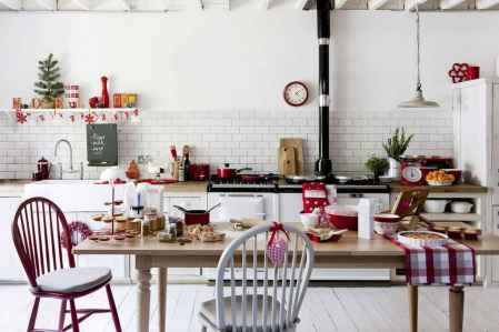 20 Elegant Christmas Kitchen Decor Ideas And Makeover (9)
