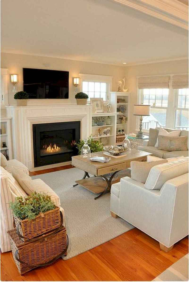 30 Stunning Farmhouse Living Room Decor Ideas (1)
