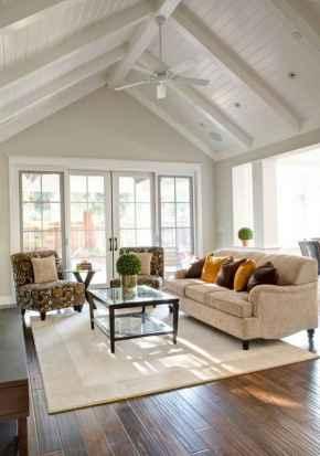30 Stunning Farmhouse Living Room Decor Ideas (23)