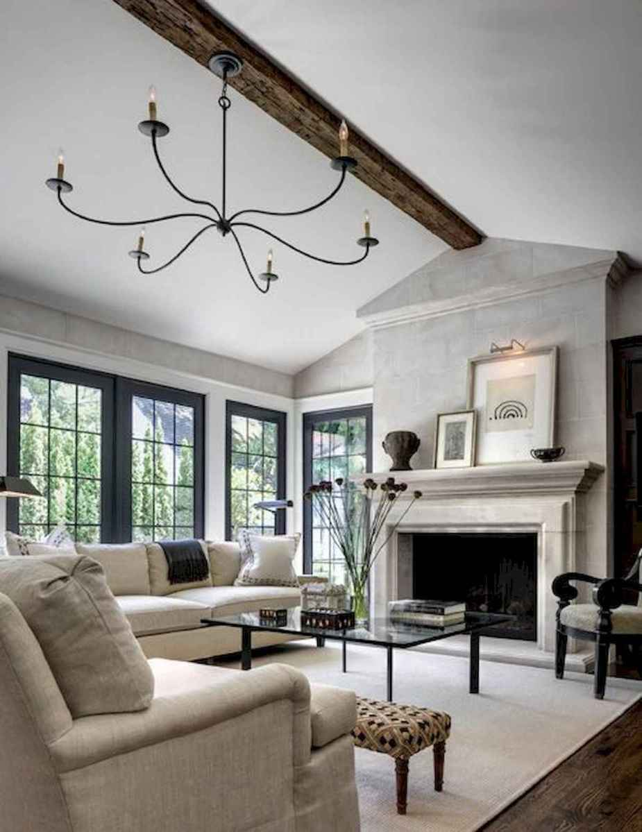 30 Stunning Farmhouse Living Room Decor Ideas (24)