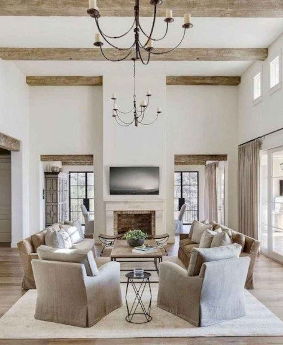 30 Stunning Farmhouse Living Room Decor Ideas (3)