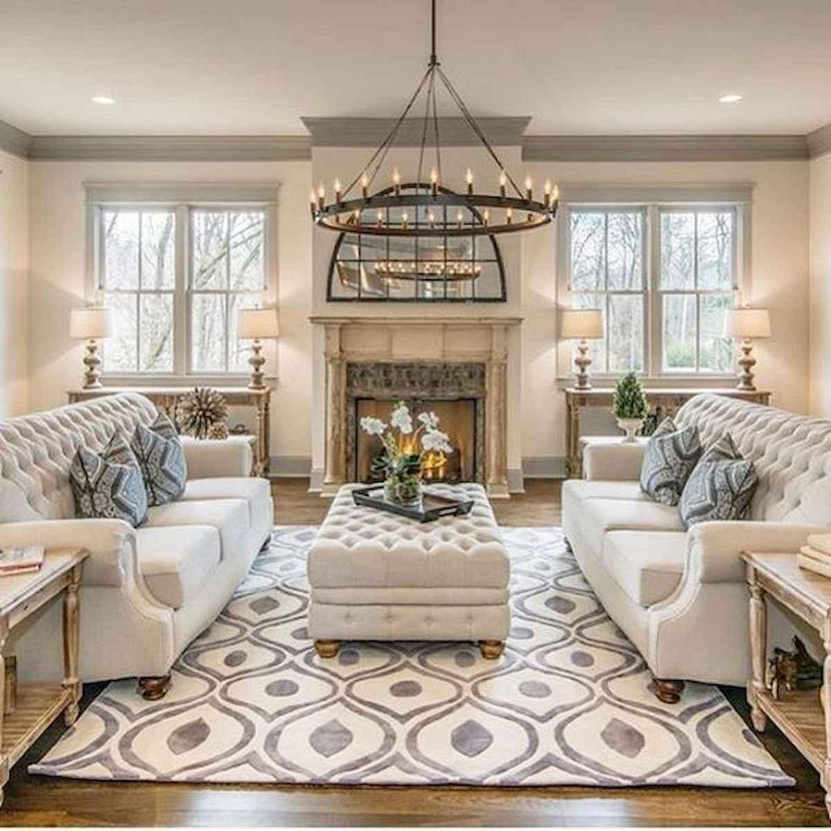 30 Stunning Farmhouse Living Room Decor Ideas (7)