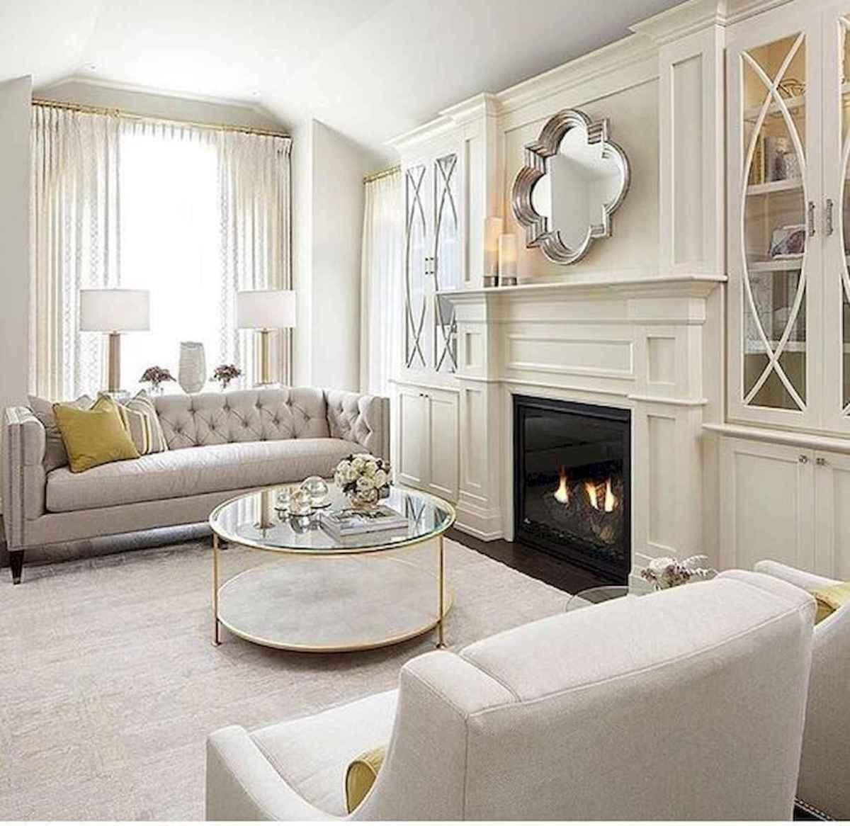40 Awesome Fireplace Makeover For Farmhouse Home Decor (11)
