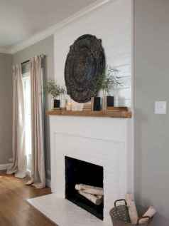 40 Awesome Fireplace Makeover For Farmhouse Home Decor (12)