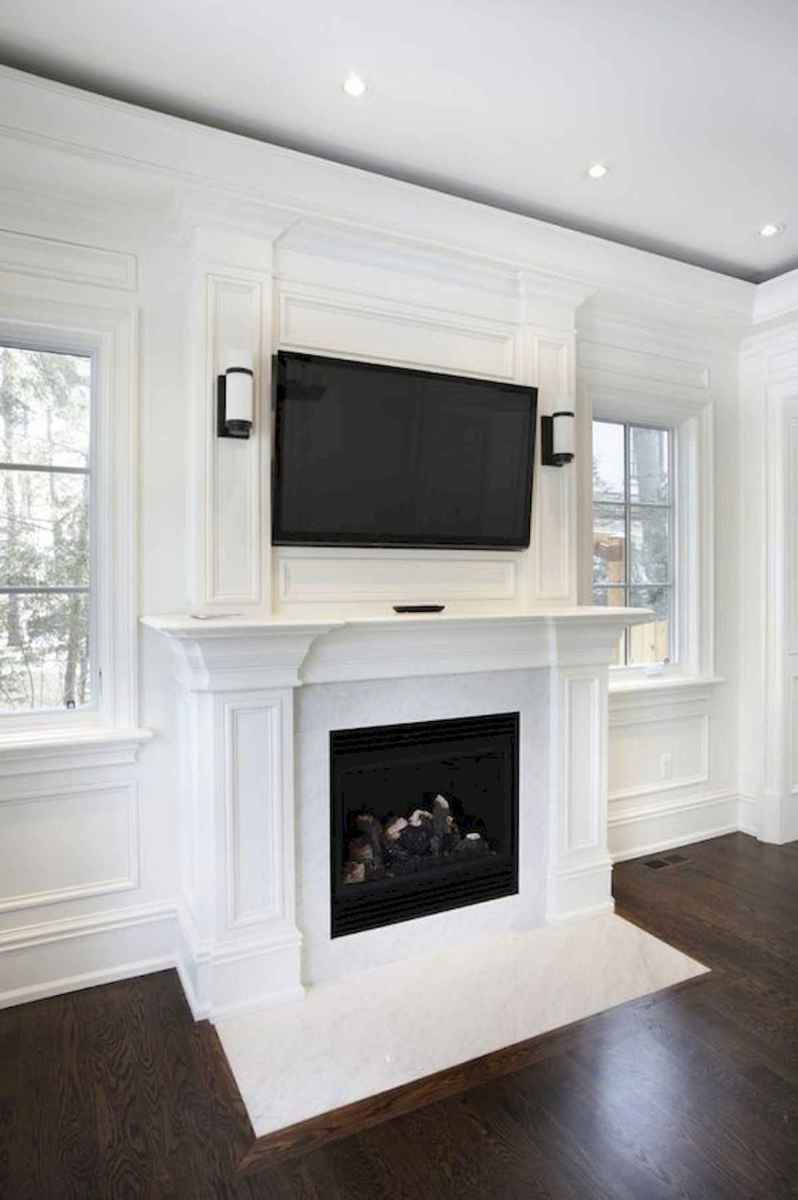 40 Awesome Fireplace Makeover For Farmhouse Home Decor (9)