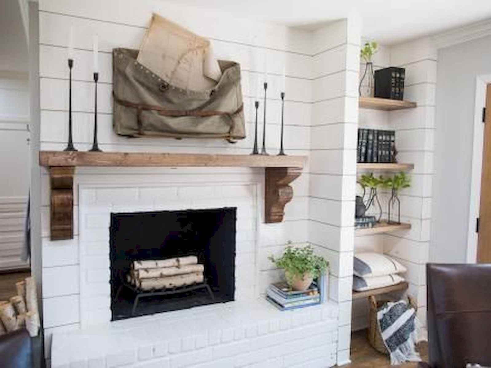 40 Best Modern Farmhouse Fireplace Mantel Decor Ideas Coachdecor Com