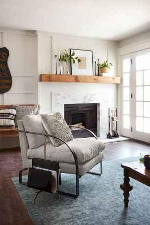40 best modern farmhouse fireplace mantel decor ideas - Modern mantel decor ideas ...