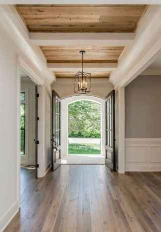 40 Best Modern Farmhouse Flooring Woods Design Ideas (41)