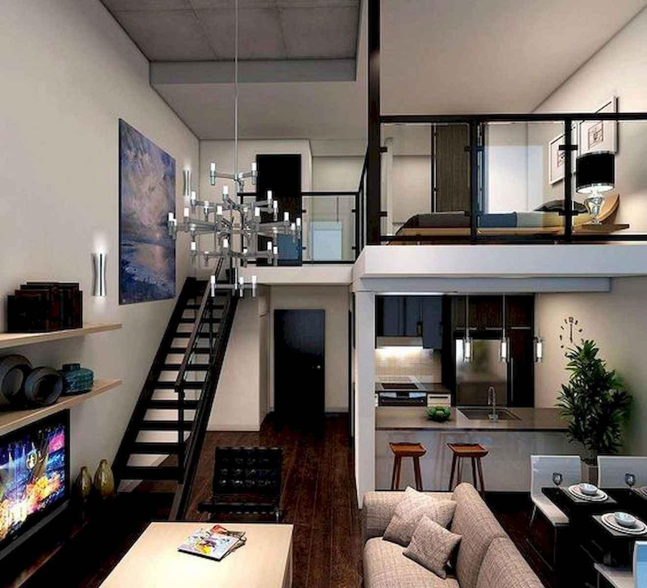 Cool Studio Apartment Ideas: 40 Rustic Studio Apartment Decor Ideas (32)