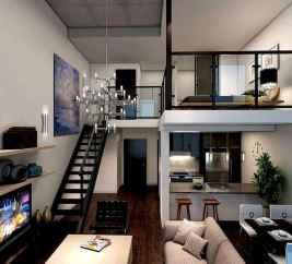 40 Rustic Studio Apartment Decor Ideas (32)