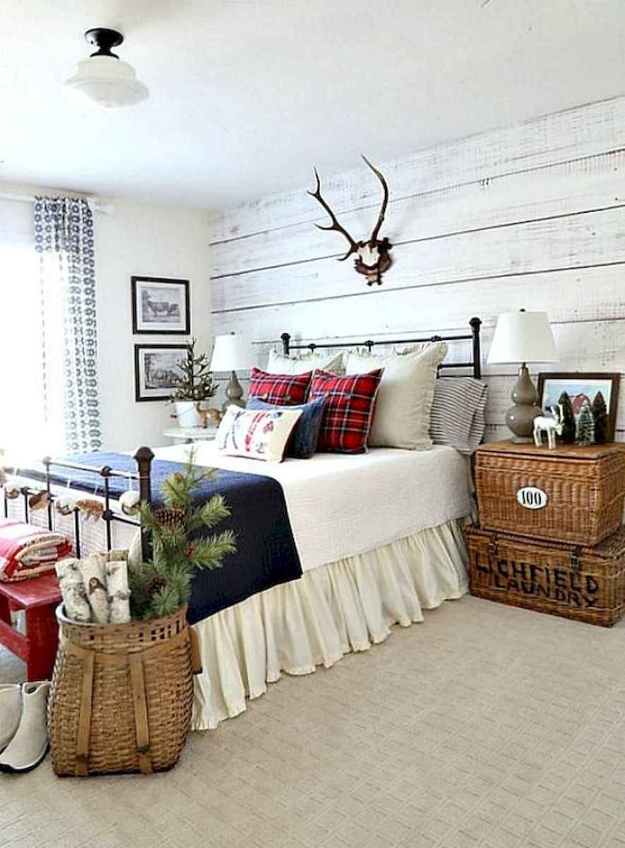 60 Awesome Farmhouse Christmas Decorating Ideas And Makeover (1)