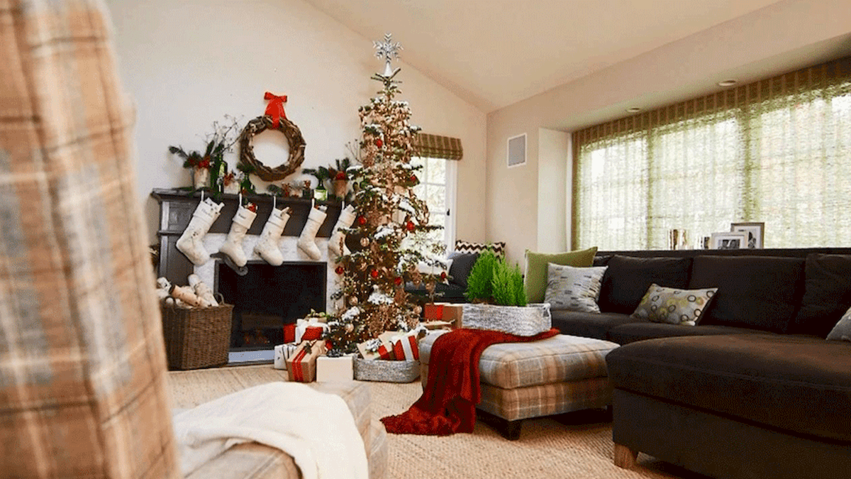 60 Awesome Farmhouse Christmas Decorating Ideas And Makeover (4)