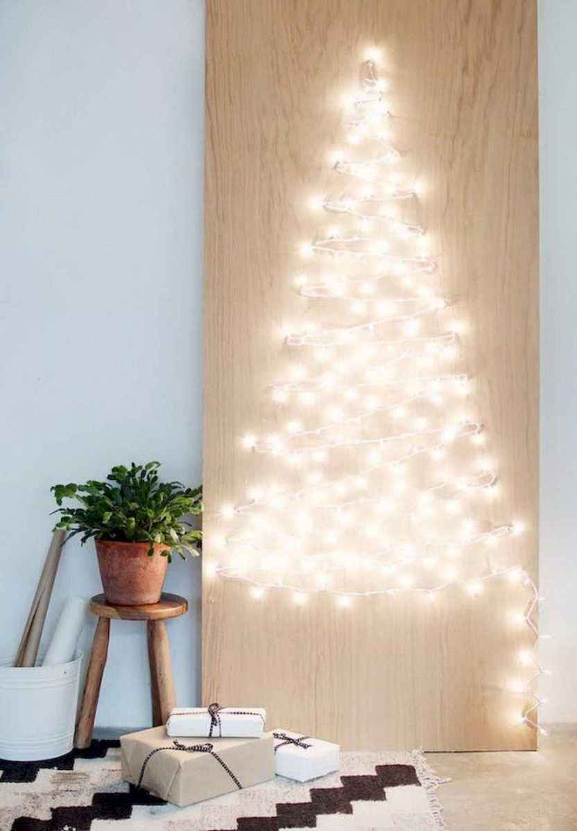 70 Awesome Christmas Lights Apartment Decorating Ideas And Makeover (10)