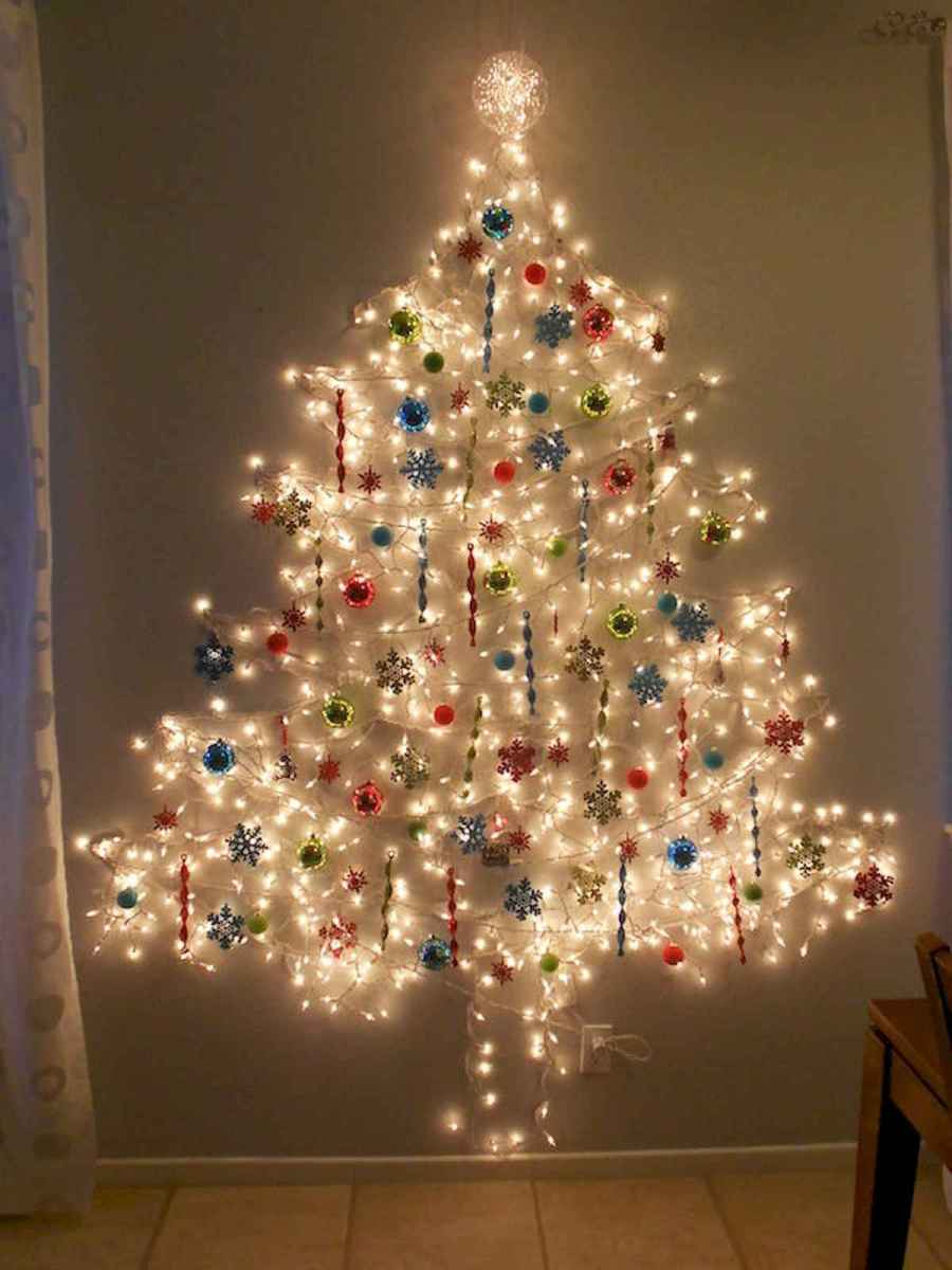 70 Awesome Christmas Lights Apartment Decorating Ideas And Makeover (8)