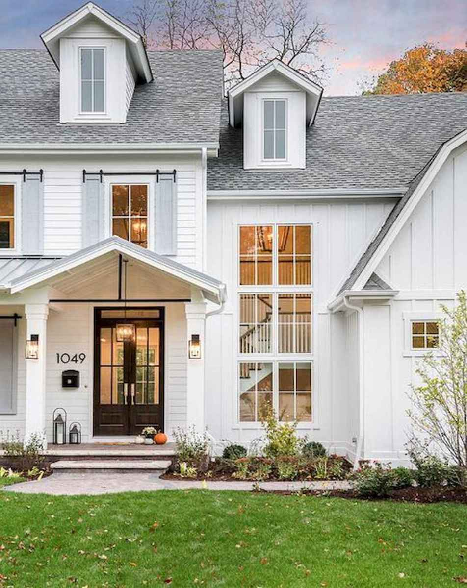 70 Best Modern Farmhouse Front Door Entrance Design Ideas (13)
