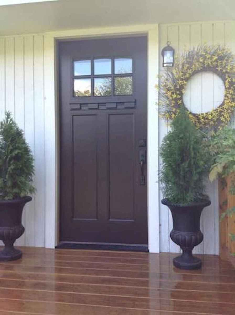 70 Best Modern Farmhouse Front Door Entrance Design Ideas (3)