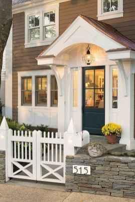 70 Best Modern Farmhouse Front Door Entrance Design Ideas (38)