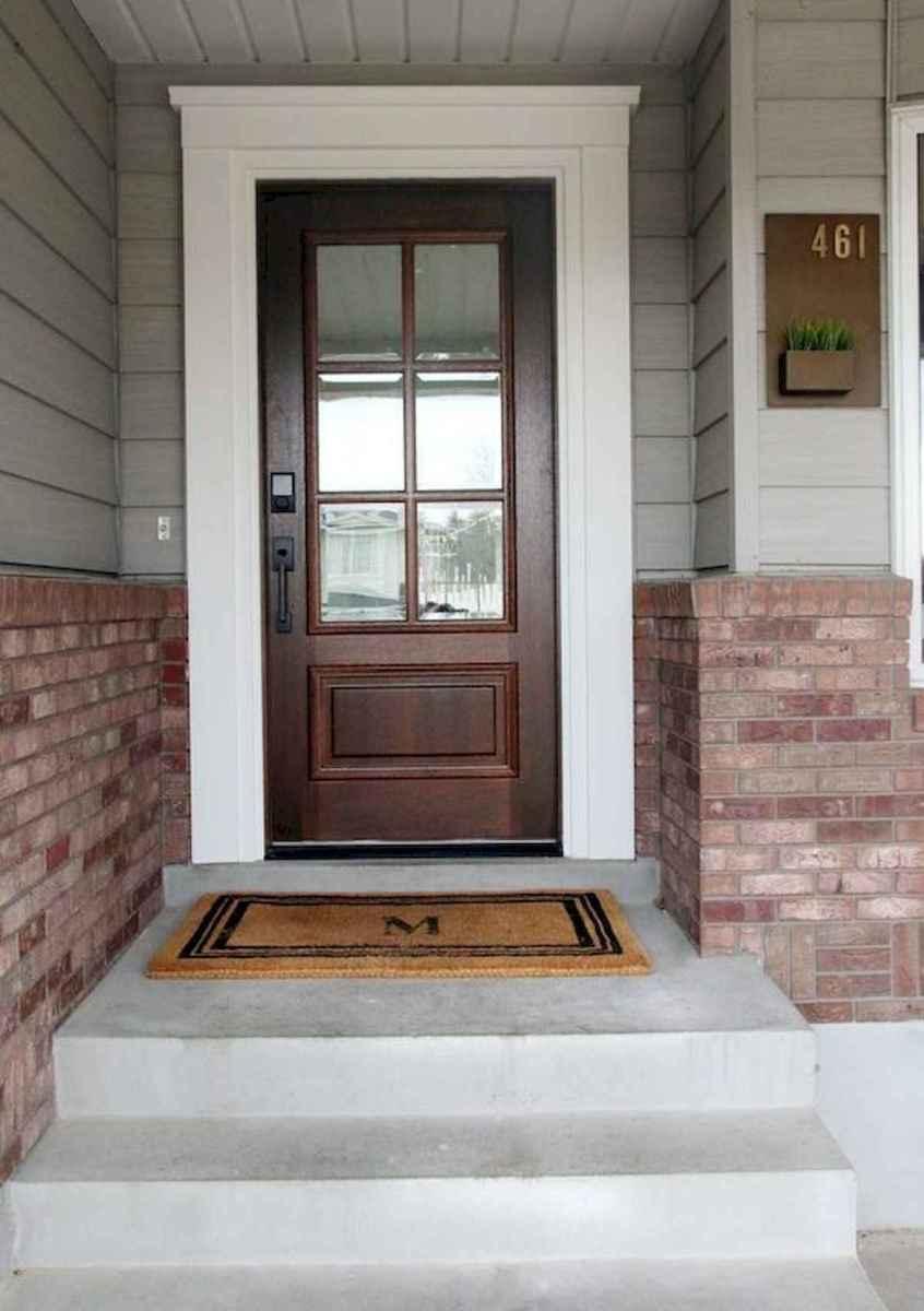 70 Best Modern Farmhouse Front Door Entrance Design Ideas (64)