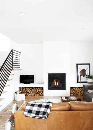 70 Elegant Modern Farmhouse Living Room Decor Ideas And Makeover (12)