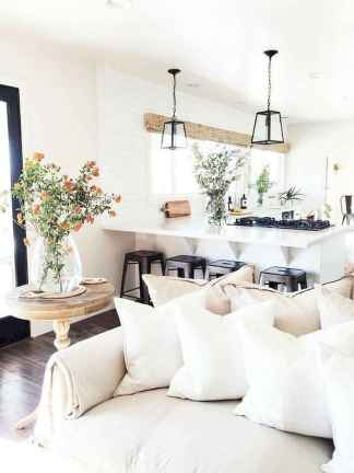 70 Elegant Modern Farmhouse Living Room Decor Ideas And Makeover (13)