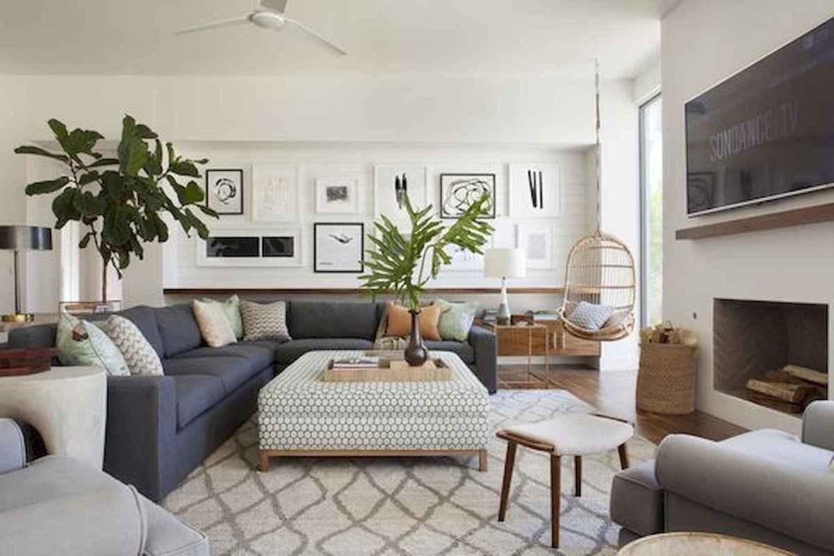 70 Elegant Modern Farmhouse Living Room Decor Ideas And Makeover (18)