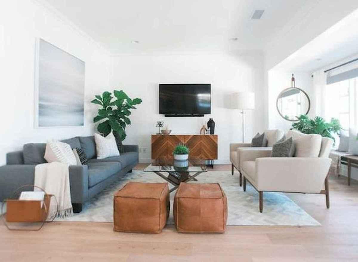 70 Elegant Modern Farmhouse Living Room Decor Ideas And Makeover (21)