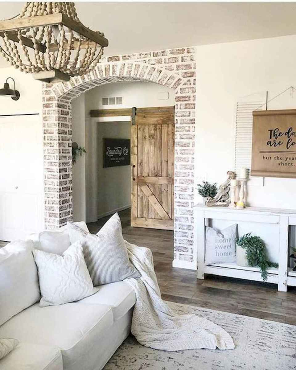 70 Elegant Modern Farmhouse Living Room Decor Ideas And Makeover (22)