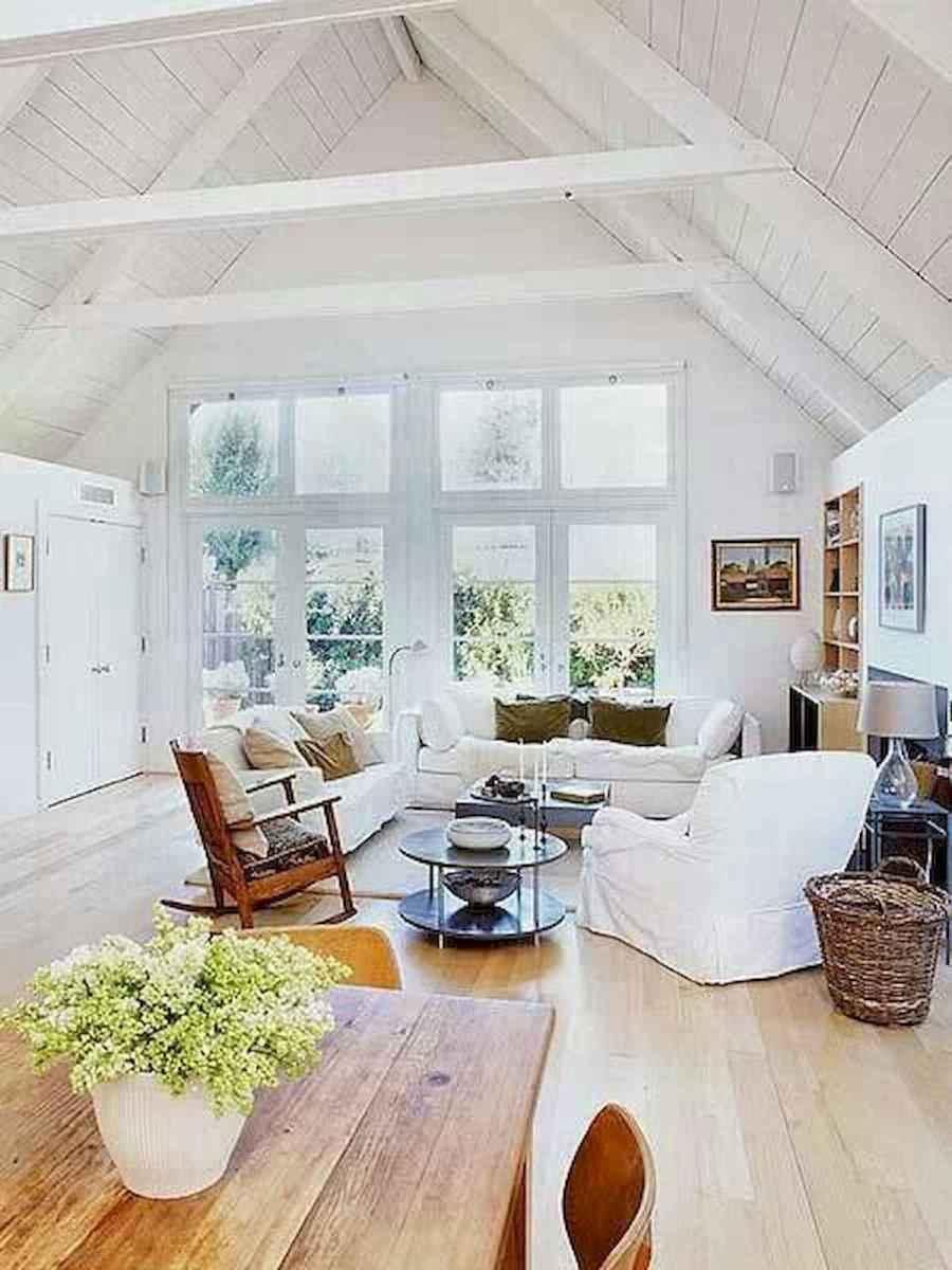 70 Elegant Modern Farmhouse Living Room Decor Ideas And Makeover (3)