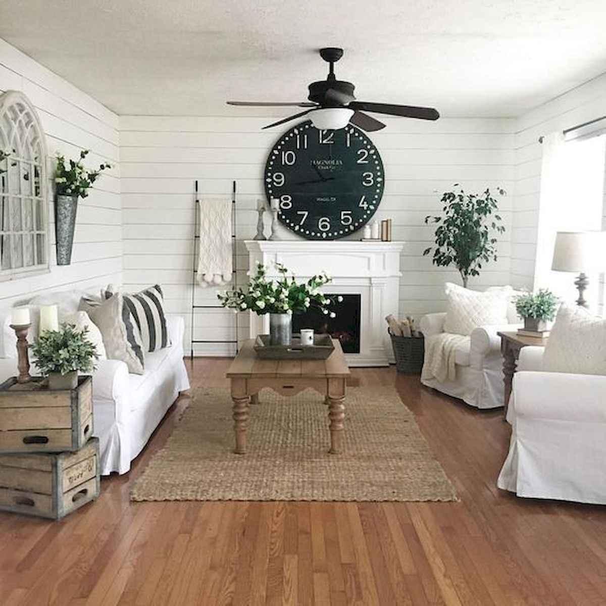 70 Elegant Modern Farmhouse Living Room Decor Ideas And Makeover (30)