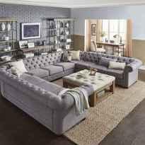70 Elegant Modern Farmhouse Living Room Decor Ideas And Makeover (41)
