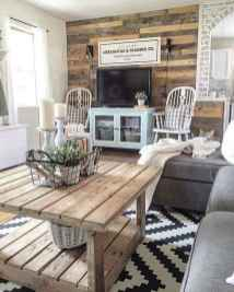 70 Elegant Modern Farmhouse Living Room Decor Ideas And Makeover (46)