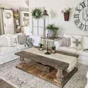 70 Elegant Modern Farmhouse Living Room Decor Ideas And Makeover (48)