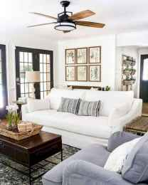 70 Elegant Modern Farmhouse Living Room Decor Ideas And Makeover (6)