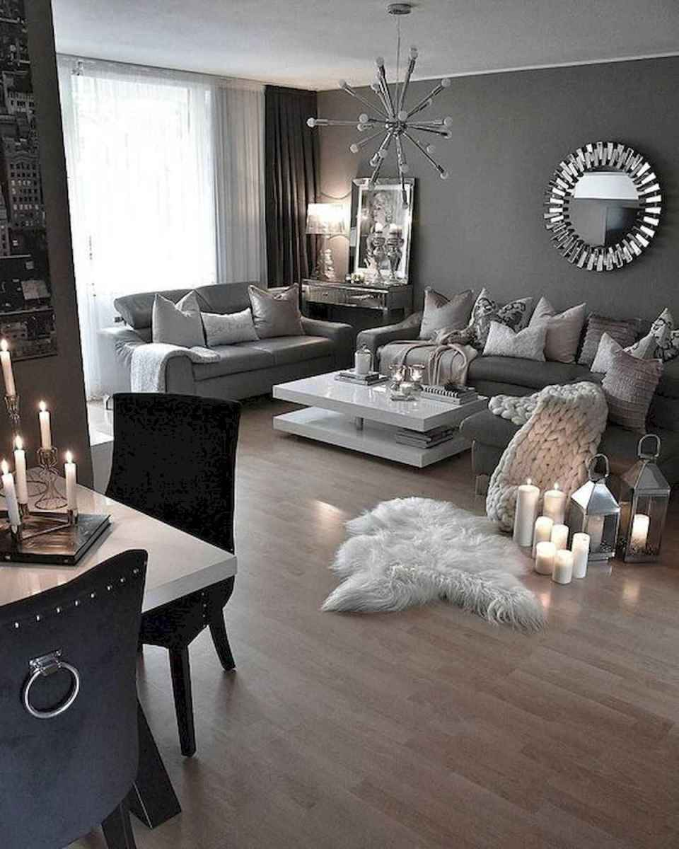 70 Elegant Modern Farmhouse Living Room Decor Ideas And Makeover (65)